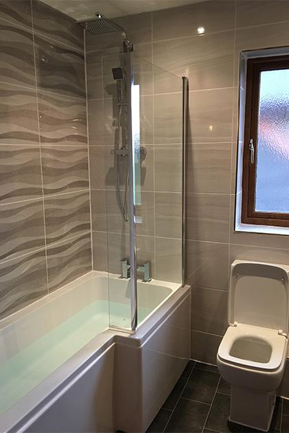 New bathroom fitted in Bromham