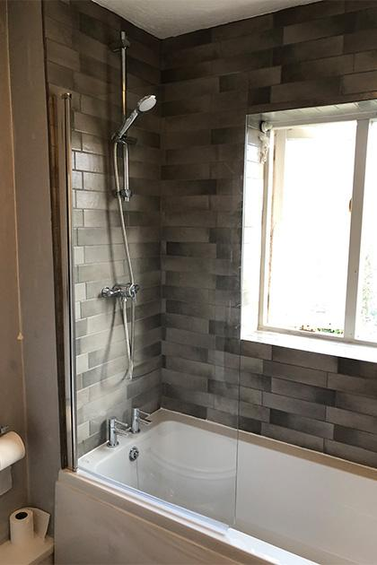 Bathroom installation in Bedford