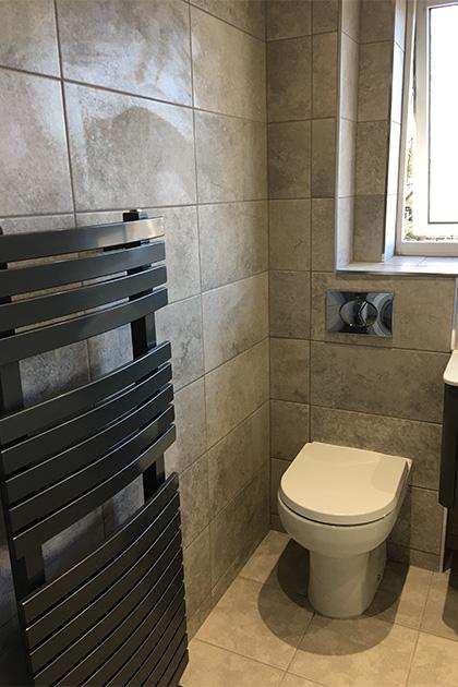 New bathroom fitted in Bedford