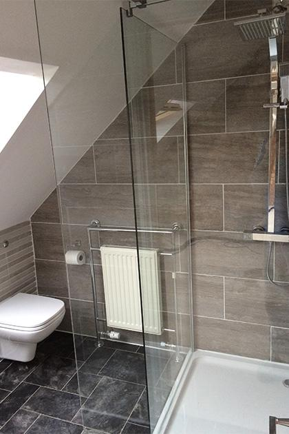 New shower room fitted in Kempston