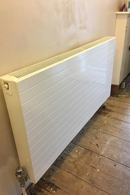 Radiator installation in Kempston