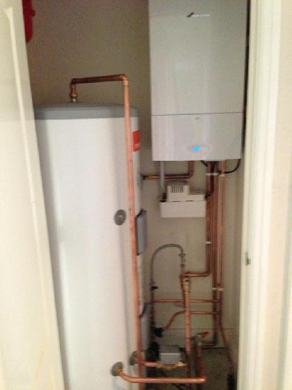 Unvented water cylinder | Odell & Son Plumbing & Heating | Bedford